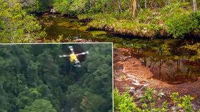Ženu se třemi dětmi zachránili po 34 dnech v pralese: Byly zesláblé a vyhladovělé
