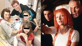 Milla Jovovichová porodila třetí holčičku! Dcera odhalila foto i jméno