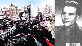 Čech, který bojoval u Stalingradu: Nejhorší byla zima, vylíčil Eduard a promluvil o kanibalismu
