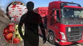 Řecko po 20 letech vymáhá po českém kamioňákovi 44 milionů! Mezi paprikami měl cigarety