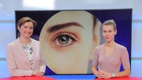 Vysíláme z Blesku: Namáhané oči. Odbornice radí, jak správně pečovat o zrak