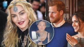 Harry a Meghan se nestačí divit! Madonna přišla s šokující nabídkou