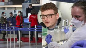 Strach českých dovolenkářů: Koronavirus? Zaostáváme hlavně v očkování, varuje lékař