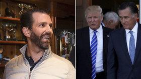 """Trump přežil hlasování o sesazení. """"K*nda!"""" ostře sepsul jeho syn přeběhlíka"""