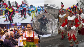 Tipy na víkend: Jizerská padesátka, zimní bitva, masopusty i bavorské pivo