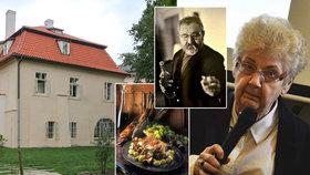 """Kuchařka Jana Wericha: """"Nejradši měl zapečený špargl a maso s ovocem,"""" vzpomíná Eva Tůmová"""