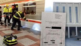 Miloš (†52) zemřel pod koly pražského metra: Z jeho smrti viní 16letého chlapce!