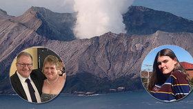 Děsivé probuzení z kómatu: Lise řekli, že její muž a dcera nepřežili erupci sopky
