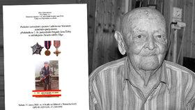 Zemřel partyzán Ladislav Verner (†93): Na Moravě zajal Hitlerova generála!