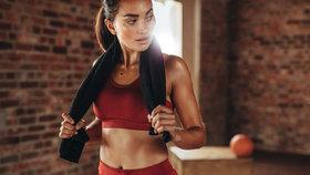 6 druhů cvičení, u kterých nejrychleji spálíte podkožní tuk