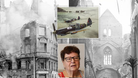 Před 75 lety Ludmile vybombardovali domov: Přežila jen díky dveřím, v činžáku zemřelo 11 lidí