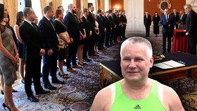 Zeman jmenoval 35 soudců, na Hradě zmínil milost pro Kajínka i tuneláře