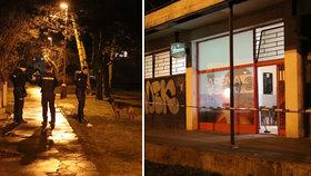Pokus o vraždu v Kladně: Mladá ženy prý pobodala muže a utekla. Policie ji po chvíli dopadla