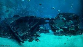 Hon za pokladem: Potápěči pátrají po 400 let staré lodi, má být plná zlata