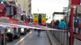 Tramvaj na Karlově náměstí srazila chlapečka (5)! Vážný úraz hlavy, museli ho uvést do umělého spánku