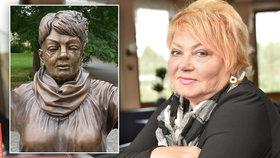 Aukční síň změnila názor! Proč odmítá prodat sochu Věry Špinarové (†65)?