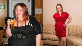 Přestala pít colu a zhubla o 70 kilogramů! Šokující proměna dvojnásobné matky