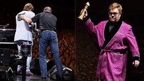 Elton John: Kolaps na koncertě! Přišel o hlas, zápal plic