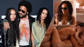 Dcera Lennyho Kravitze v novém seriálu: Sex, kam se divák podívá!