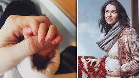 Berenika Kohoutová ukázala svou holčičku! Ale jeden detail všechny zarazil