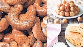 3 sladké recepty za pár korun: Zkuste loupáčky, koblížky i skotské sušenky