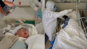Novorozená holčička porazila koronavirus. Jako nejmladší pacientka a bez léků