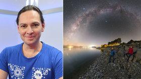 Český fotograf sbírá úspěchy v NASA. Poradil, kam za hvězdnou oblohou