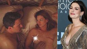Odvážná Anne Hathawayová: V novém filmu ukázala jizvu místo prsa!