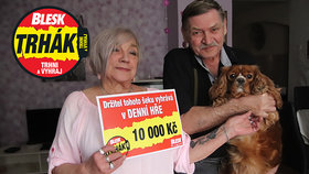 Marie (69) ze Židlochovic »trhla« 10 tisíc korun: Výhra mně vyrazila dech!
