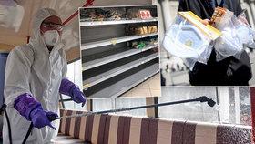 Byznys s panikou: Češi skoupili roušky a respirátory. Z obchodů mizí jídlo i drogerie