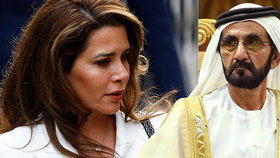 """""""Rozvod století"""" se vrací k soudu: Utrápená princezna Hajá bojuje s mocným šejchem o děti"""