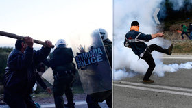 Řekové protestují proti novým zařízením pro migranty: Desítky zraněných