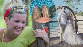 Kráska z Robinsonova ostrova je těhotná! Před porodem se stihla vdát
