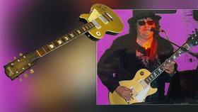 Lubomírovi ukradli cennou kytaru: Zdrcený muzikant prosí o pomoc!