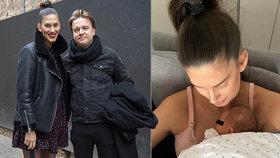 Vignerová je z porodnice doma! Takhle si ji i syna Kolečko hýčká!