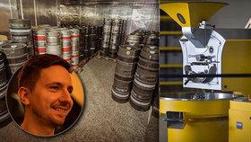 Posedlý pivem! Jakub (30) zlatý mok vaří od třinácti, dnes vlastní netradiční pivní bar v Praze