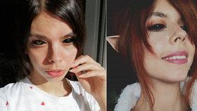 Alexandra (25) oslepla po šíleném zákroku: Nechala si potetovat oči!