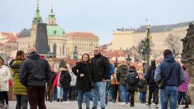 Rekordní únor v Praze! Bylo nejtepleji od roku 1775, průměrně 6,9 stupně