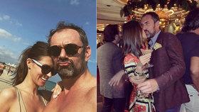 Zamilovaný kuchař Emanuel Ridi (46): Vnadnou Slovenku (28) rozmazluje luxusem!