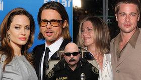 Bodyguard Brada Pitta neudržel tajemství: Drsná pravda o Anistonové a Jolieové!