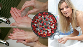 Mytí rukou jako prevence proti koronaviru: Velký fotonávod, jak na to!