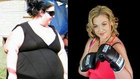 Neuvěřitelná proměna! Během tří let zhubla o 110 kilo, přiměla ji k tomu svatební fotka