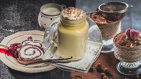 Chtělo by to nějakou sladkou tečku? Zkuste čokoládovou pěnu nebo roládu!