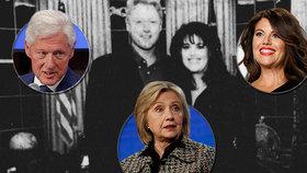 Exprezident Clinton o orálním sexu s Lewinskou: Byla to úleva po tlaku v práci