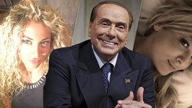 """Berlusconi (83) vyměnil milenku (34) za """"mladší model"""". Expremiér randí s Martou (30)"""
