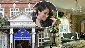 Meghan si v Londýně užívá hotelový pokoj za čtvrt milionu na noc! Stejně jako kdysi Kate