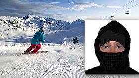 Postrach lyžařů léta děsil horská střediska: Konečně ho máme! ohlásila policie