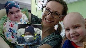 Pavlík (3) má po transplantaci nulovou imunitu! Bojím se, aby byly respirátory, přiznala maminka