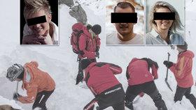 Pětice Čechů zemřela pod lavinou: Dojemná slova zdrcené mámy a sestry zemřelého Lukáše