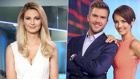 Zemětřesení na TV Prima: Misař a Leová se bojí o práci! Kdo ze zprávařů zůstane?